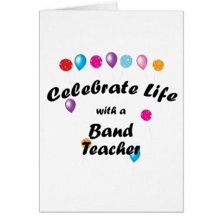 Celebrate Band Teacher Cards