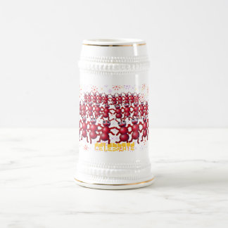 celebrate beer stein