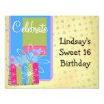 Celebrate Birthday Party Custom Invitations