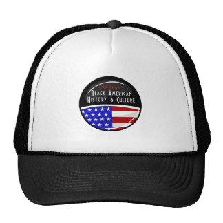 Celebrate Black American History Glossy Emblem Trucker Hat