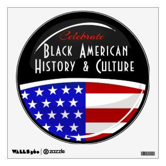 Celebrate Black American History Huge Wall Sticker