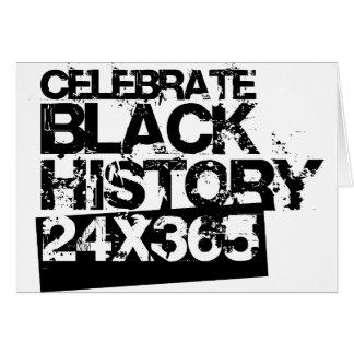 CELEBRATE BLACK HISTORY 24x365 Cards