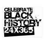 CELEBRATE BLACK HISTORY 24x365 Post Cards