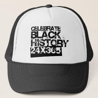 CELEBRATE BLACK HISTORY 24x365 Trucker Hat