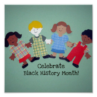 Celebrate Black History Month! 2 Poster