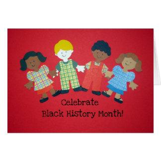 Celebrate Black History Month Card