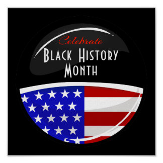 Celebrate Black History Month Event Giant Poster