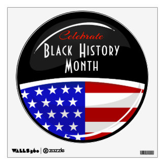 Celebrate Black History Month Event Wall Sticker