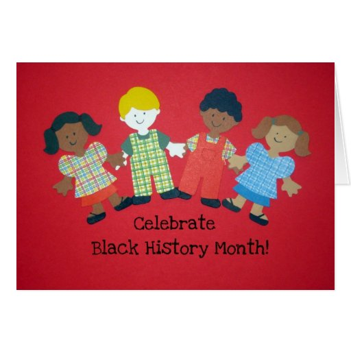 Celebrate Black History Month Greeting Cards