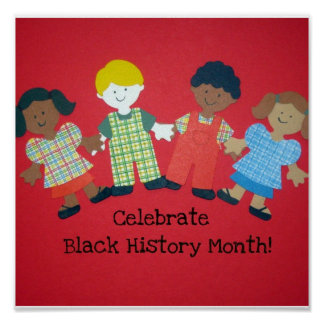 Celebrate Black History Month! Poster