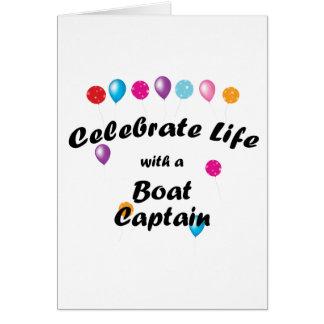 Celebrate Boat Captain Card