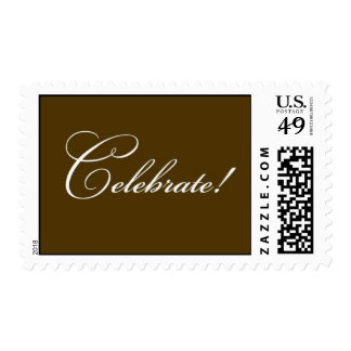 Celebrate - Brown Stamps
