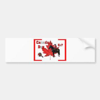 Celebrate Canada Day Car Bumper Sticker