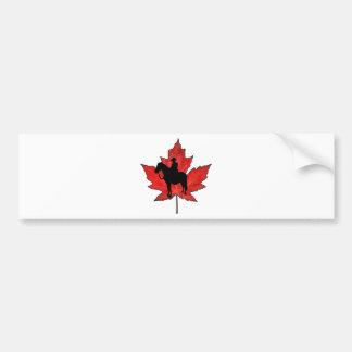 Celebrate Canada Day Bumper Sticker
