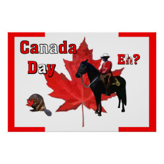 Celebrate Canada Day Poster