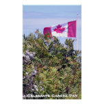 Celebrate Canada Poster