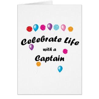 Celebrate Captain Card