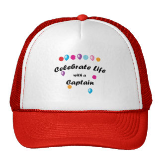 Celebrate Captain Trucker Hat