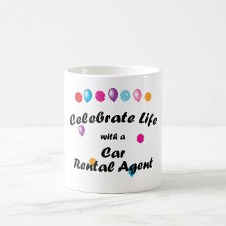 Celebrate Car Rental Agent Coffee Mug