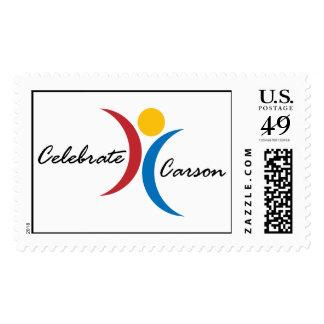 Celebrate Carson Stamp