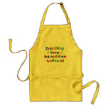 Celebrate CARTOONS with a Cute T-shirt Aprons