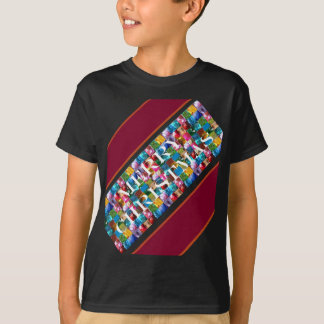 Celebrate CHRISTMAS :  Crazy Colorful n SHARE Joy T-Shirt