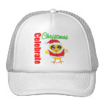Celebrate Christmas Santa Chick Hats