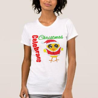 Celebrate Christmas Santa Chick Tank
