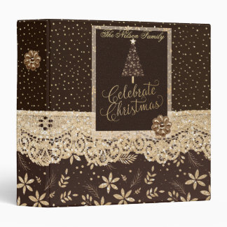 Celebrate Christmas Scrapbook Binder