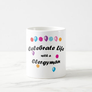 Celebrate Clergyman Mug