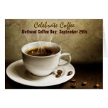 Celebrate Coffee Note Cards! Stationery Note Card