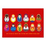 Celebrate Culture & Diversity Event RSVP 3.5x5 Paper Invitation Card