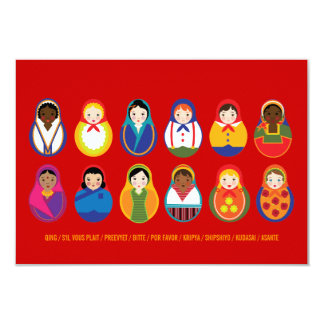 Celebrate Culture & Diversity Event RSVP Card