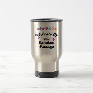 Celebrate Database Manager Travel Mug