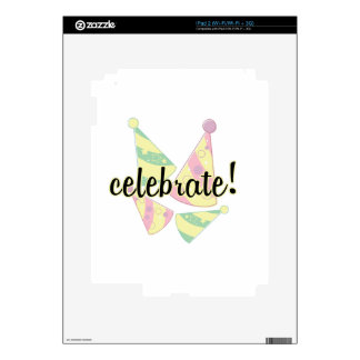 Celebrate Decals For The iPad 2