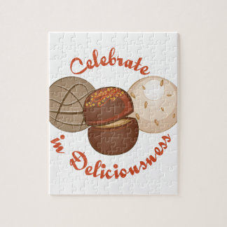 Celebrate Deliciousness Jigsaw Puzzle