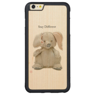 Celebrate Difference with an Elephant iPhone Carved Maple iPhone 6 Plus Bumper Case