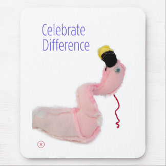 Celebrate Difference with your mouse Mouse Pad