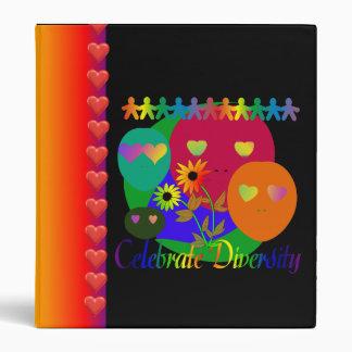 Celebrate Diversity 3 Ring Binder