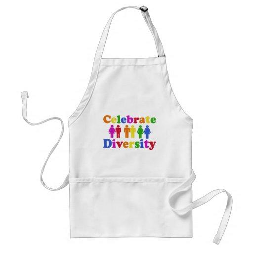 Celebrate Diversity Apron