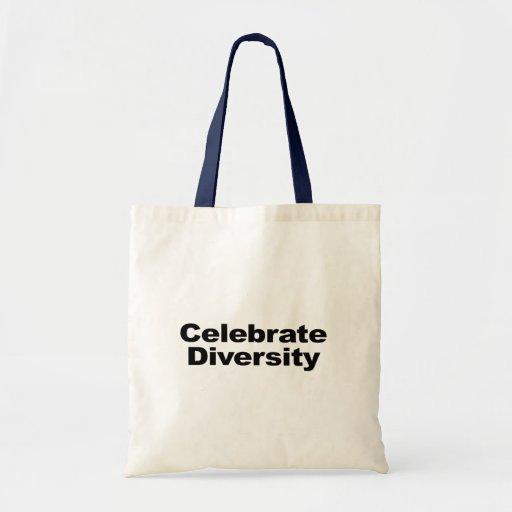 Celebrate Diversity Budget Tote Bag