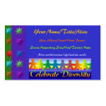 Celebrate Diversity Business Card