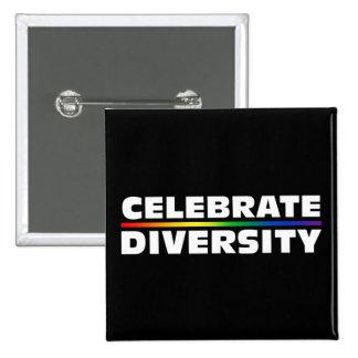 Celebrate Diversity Button