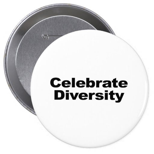 Celebrate Diversity Buttons