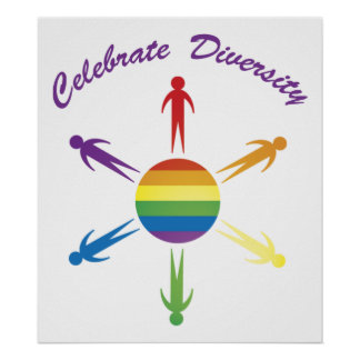 Celebrate Diversity Circle Posters