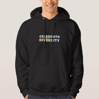 Celebrate Diversity Dark Hooded Sweatshirt