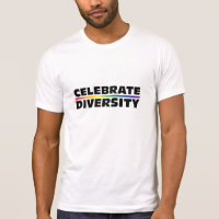 Celebrate Diversity Destroyed T-Shirt