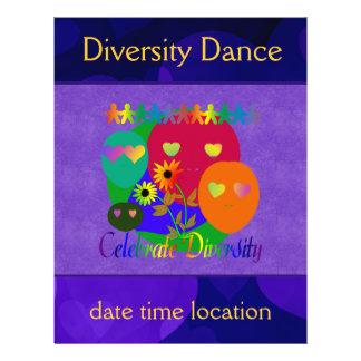 "Celebrate Diversity 8.5"" X 11"" Flyer"