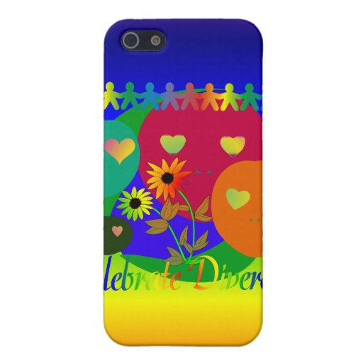 Celebrate Diversity Cases For iPhone 5