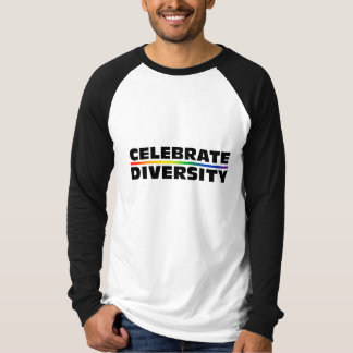 Celebrate Diversity Long Sleeve Raglan T-Shirt